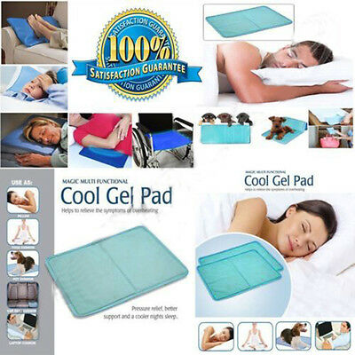Chillow Therapy Insert Sleeping Aid Pad Mat Muscle Relief Cooling Bed Gel Pillow