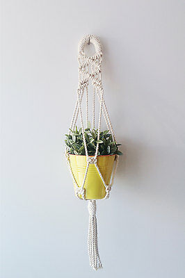 Cotton Macrame Plant Hanger - 31 inches