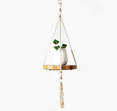 Cotton Macrame Plant Hanger - 45 inches