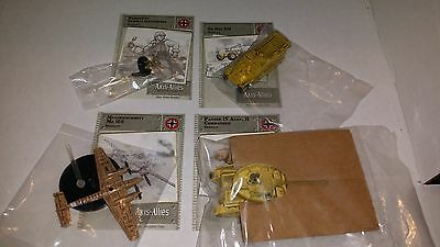 I Axis & Allies North Africa Lot 12 German Panzer IV, ME 110, Vet Wehrmacht, 251