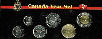 2017 Canadian Brilliant Uncirculated Canadian Six Coin Year Set in Nice Display!