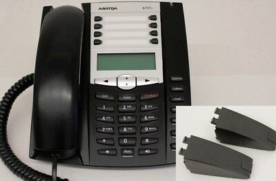 Aastra 6731i VoIP IP Phone (A6731-0131-10-01) 31i  A-Stock w/ Stand
