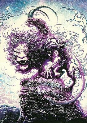 Widespread Panic Red Rocks AP Sour Grape Variant Print by Miles Tsang June 2017