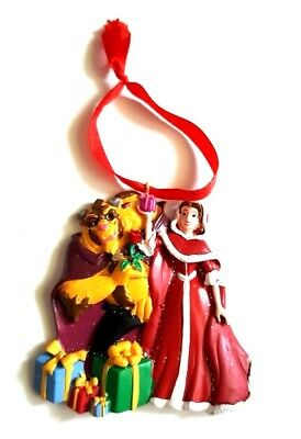 Disney BEAUTY & THE BEAST Chistmas Ornament - LIMITED EDITION  - BRAND NEW