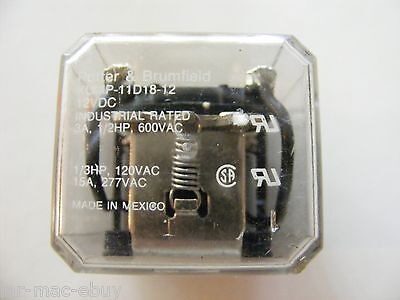 Potter & Brumfield  Plug-in Relay  KUMP-11D18-12 12 Volt DC