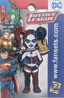 DC Comics Harley Quinn New 52 Collectors Pin Justice League Licensed FanSets