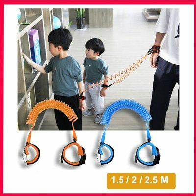 Toddler Kid Baby Anti-lost Harness Strap Safety Wrist Link Leash Belt Traction