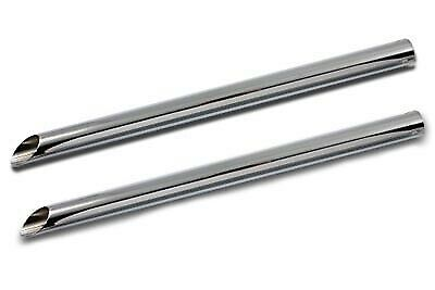 Chrome 30  Straight Exhaust Pipe Extension,for Harley Davidson,by V-Twin