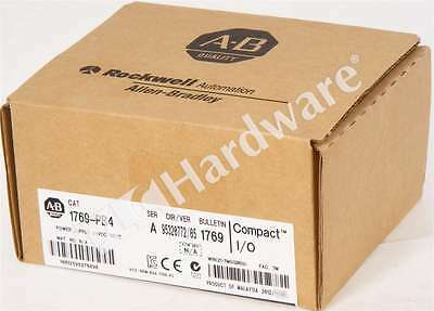 New Sealed Allen Bradley 1769-PB4 /A 2012 CompactLogix Power Supply 24V DC Input
