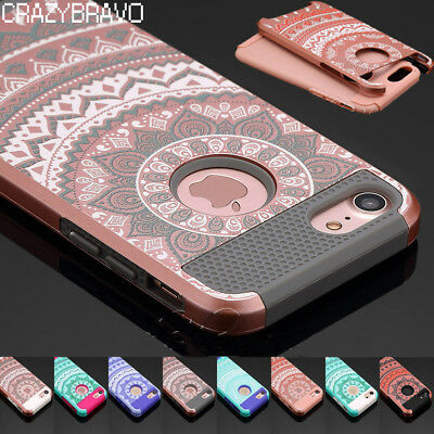 For Apple iPhone X 8 7 6s 6 Plus Cover Case Shockproof Hybrid Rugged Rubber Hard