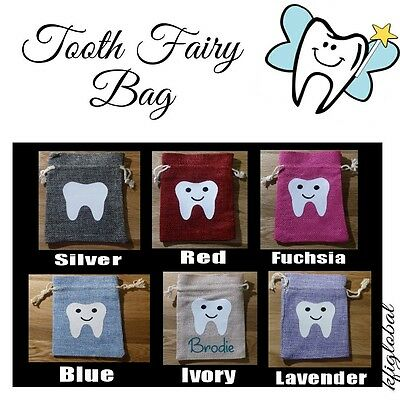 Tooth Fairy Bag keepsake special pixie dust personalized
