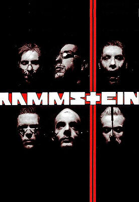 "Rammstein Rock Band Fridge Toolbox Magnet Size 2.5"" x 3.5"""