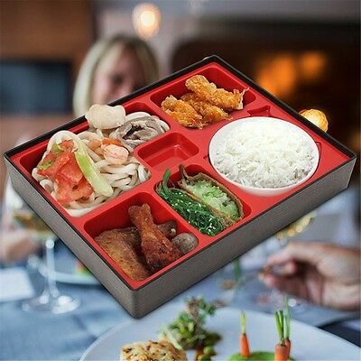 Portable Japanese Style Bento Sushi Box Bowl Storage Food Lunch Dinner Container