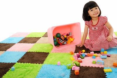 9pcs Floor Covering  EVA Foam Puzzle Floor Mats Play Mat Kids Random color