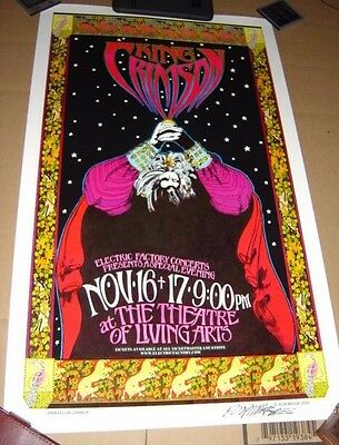 King Crimson 2000 Philly Concert Poster 15 x 24 ~ $24.95 NM- cond. Fripp