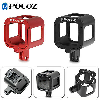 Puluz Metal Housing Shell Protective Cage + Frame For GoPro HERO5 /4 Session