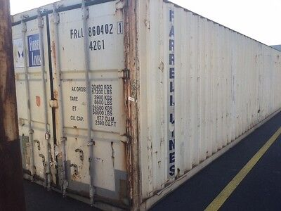 40ft Gen Shipping Container. Water & Vermin Proof Easily Lockable. You Choose!