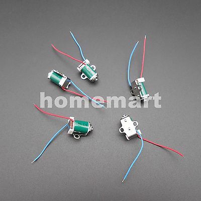 5PCS DC 5V 6V Miniature Solenoid Push Pull Type Inhaled Micro Electromagnet Suck