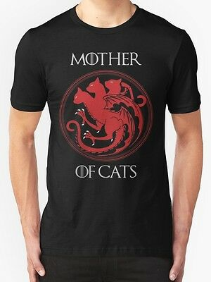 Mother of Cats Men's T-Shirt Size S-2XL