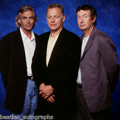 Pink Floyd 1994 rare 16x16 photo, photograph from original Slide, David Gilmour