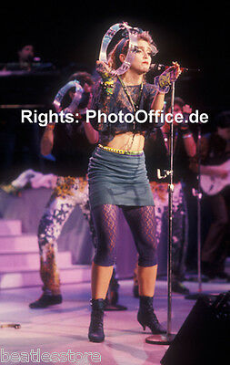 Madonna Los Angeles 1985, 12 x 18 Tour Concert Photo Poster, from orig. negative