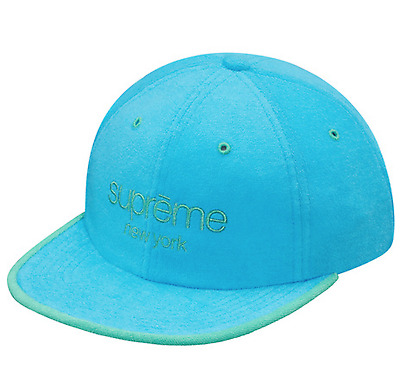 8bcd385b964 Supreme SS17 Terry Classic Logo 6-Panel Cap BOX HAT BEANIE CAMO TIGER CAMP  TEE