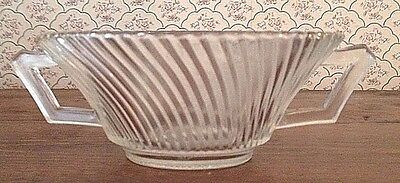 Federal DIANA CRYSTAL Cream Soup Bowl