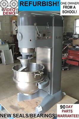 Hobart M802 80 Qt Quart Bakery Pizza Dough Mixer From a School... REFURBISHED!!
