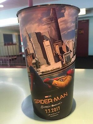Spider-Man: Homecoming 44oz Plastic Movie Theater Cup Brand New!