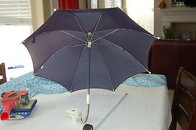 GRACO blue Stroller Sunshade Rain Umbrella Shading Sunblock Parasol pram baby