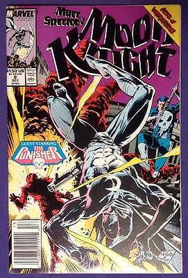 MARC SPECTOR: MOON KNIGHT 8 December 1989 9.2-9.4 NM-/NM NEWSSTAND EDITION!!!