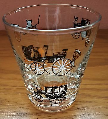 Vintage 1950 Libbey Horseless Carriage Side Water / Juice Glass – by Freda Diamo