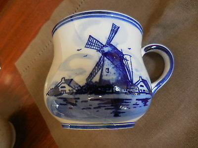 Vintage Dutch Tile, Coffee Cup, and a Delft Ceramic Small Plate See All Photos