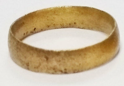 Ancient Viking  wedding Ring, medieval ring, Size 7 1/2 (17.7mm)(Brr1020)