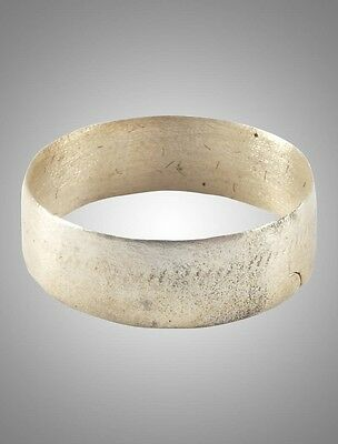 Authentic Ancient Viking  wedding Ring Band  C.866-1067A.D. Size 9 1/4   (19.6mm