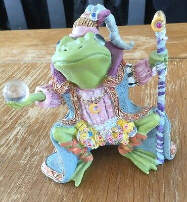 Wizard of Camelot, Camelot Frogs by Hamilton Collection, 1996 Free Shipping!