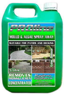 Patio Decking Fencing Mould Algae Moss Killer Path Magic Drive Cleaner 1 x 5L