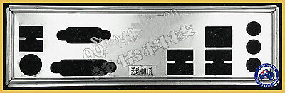 I/O shield backplate of motherboard Gigabyte GA-Z77-DS3H GA-H87M-HD3 GA-B75M-D3H