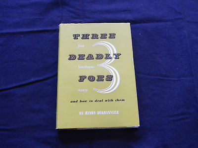 Three Deadly Foes By Henry Durbanville