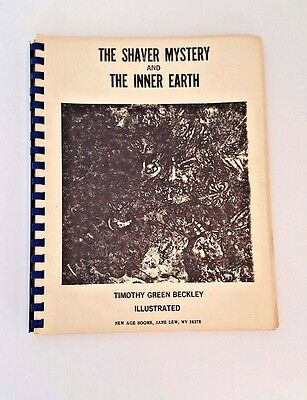 The Shaver Mystery & Inner Earth 2nd Ed Hollow HIlls Jersey Devil Atlanteans