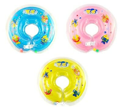 Round Summer Kids Baby Swimming Neck Float Ring Tube -Free Shipping from Texas