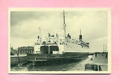 Dunkerque : Paquebot / Ferry Boat Shepperton Ferry -