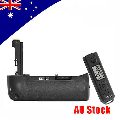 Meike MK-7DR II Battery Grip Holder+Remote Control f Canon 7D Mark II as BG-E16