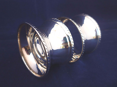 Pair Of Vintage Silver Plated Napkin Rings used but in vgc
