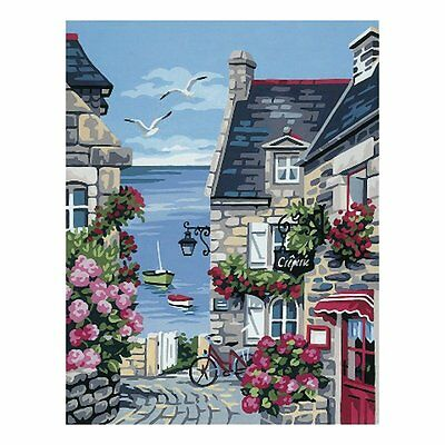 Royal Paris Preprinted Canvas Tapestry - The Harbour Street