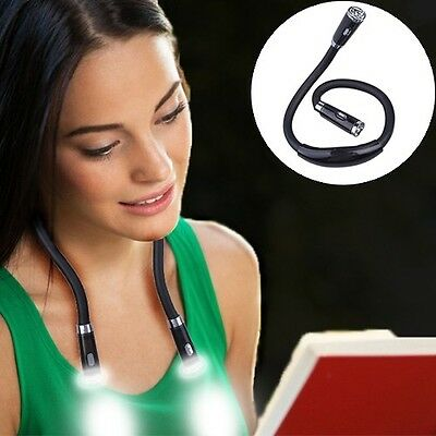 NEW Multi Function Hands Free Goose Neck Led Work Barn Reading Light Flexible