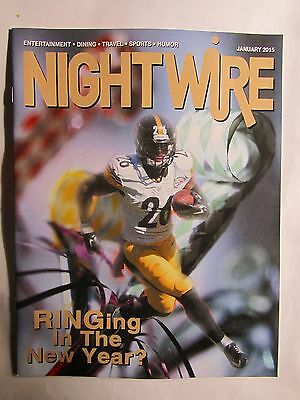 Le'Veon Bell  PITTSBURGH STEELERS star Night Wire Magazine Unsigned