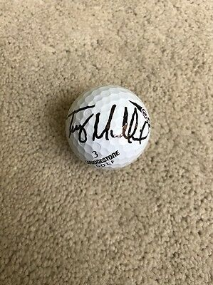 Trey Mullinax Signed Autographed Golf Ball Masters