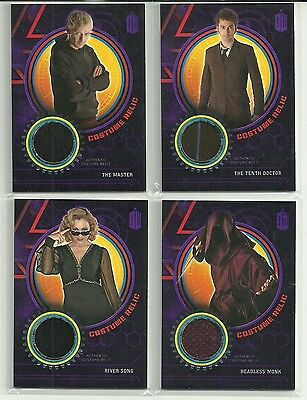 Topps Doctor Who Extraterrestrial Encounters Purple Costume Relic Card #ed / 50