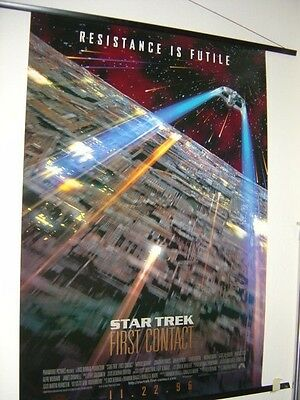 Star Trek: First Contact (1996) Poster Advanced Print 27 x 40 NM- cond. $4.95